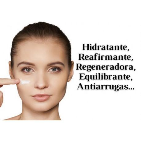 HIDRATANTES, REAFIRMANTES, REGENERADORAS, EQUILIBRANTES, ANTIARRUGAS...