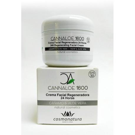 CANNALOE 1600 – CREMA FACIAL REGENERADORA 24 HORAS